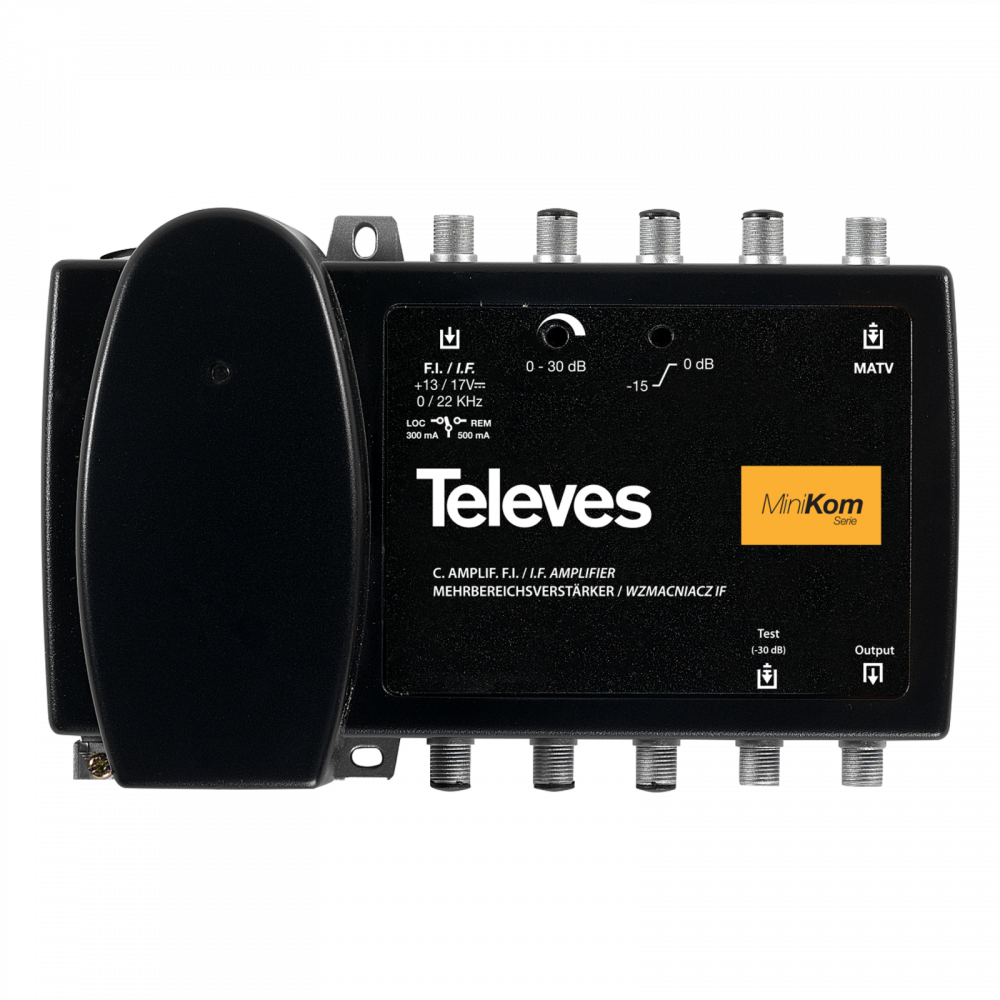 Televes MiniKom F broadband multiband amplifier