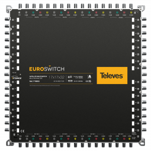 EuroSwitch 17 inputs - 32 outputs