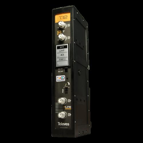 Amplificador monocanal/multicanal T12