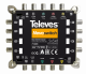 NevoSwitch equipped with 5 QUAD inputs and 8 outputs