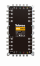 NevoSwitch equipped with 5 QUAD inputs and 16 outputs