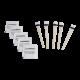 Kit de limpeza para fibra óptica